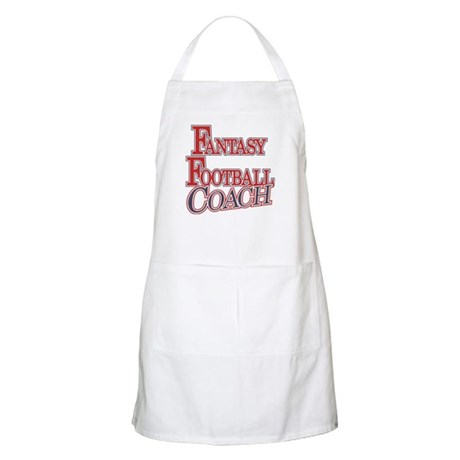 Fantasy Football Coach BBQ Apron