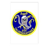 USS Caloosahatchee (AO 98) Postcards (Package of 8