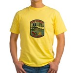 Cape Girardeau Fire Yellow T-Shirt