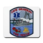 Cape Girardeau Fire Mousepad