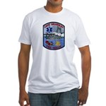 Cape Girardeau Fire Fitted T-Shirt