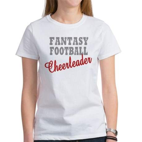 Fantasy Football Cheerleader Women's T-Shirt