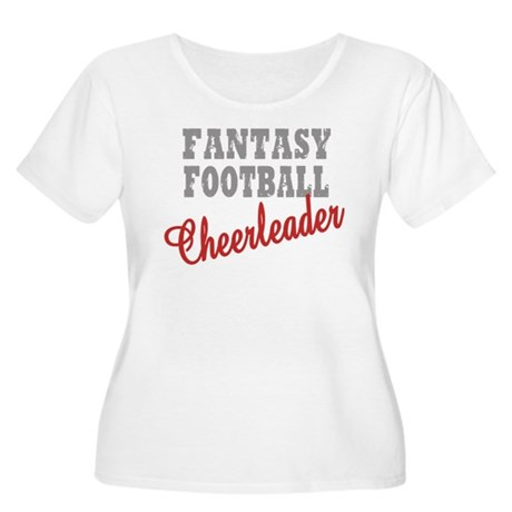 Fantasy Football Cheerleader Women's Plus Size Sco