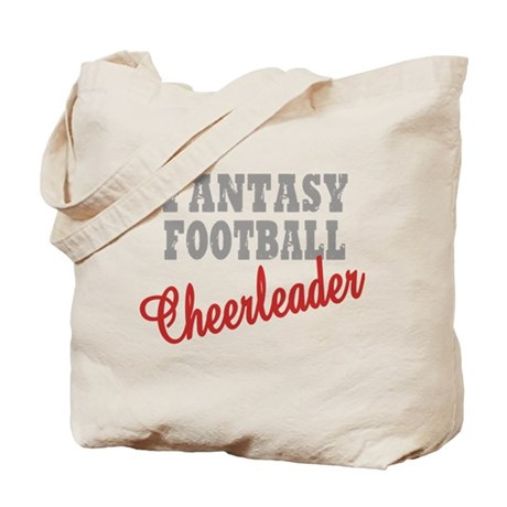 Fantasy Football Cheerleader Tote Bag