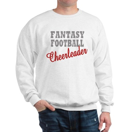 Fantasy Football Cheerleader Sweatshirt
