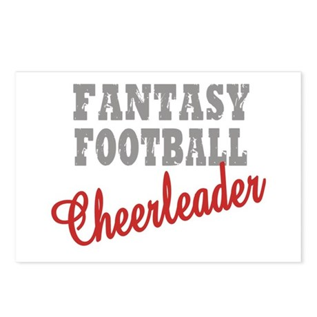 Fantasy Football Cheerleader Postcards (Package of