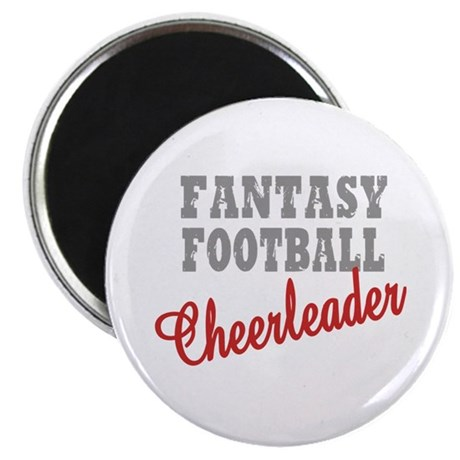 "Fantasy Football Cheerleader 2.25"" Magnet (10 pack"