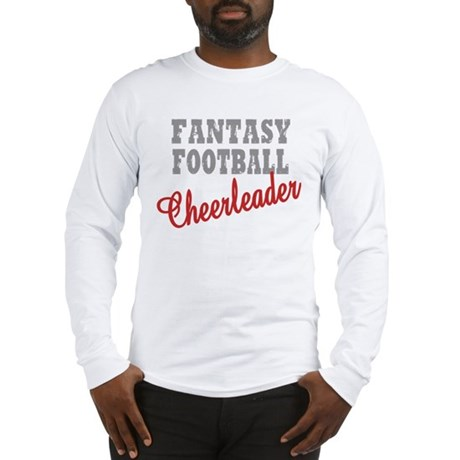 Fantasy Football Cheerleader Long Sleeve T-Shirt