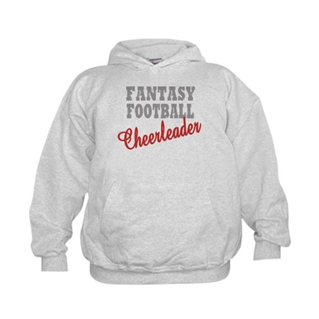 Fantasy Football Cheerleader Kids Hoodie