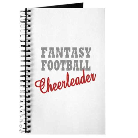 Fantasy Football Cheerleader Journal