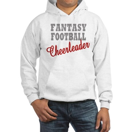 Fantasy Football Cheerleader Hooded Sweatshirt