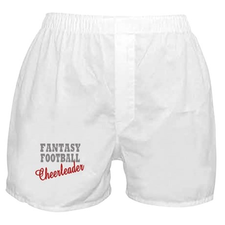 Fantasy Football Cheerleader Boxer Shorts