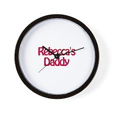 Rebecca's Daddy Wall Clock
