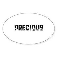 Precious Oval Decal