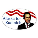 Alaska for Kucinich Bumper Sticker
