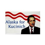 Alaska for Kucinich Rectangle Magnet