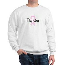 Fighter pink ribbon Sweatshirt