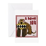 I Love You Dog Greeting Cards (Pk of 10)