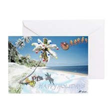 Tropical Snow Greeting Cards (Pk of 20) {MK}