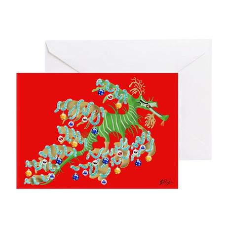 Sea Dragon Greeting Cards (Pk of 20) {MCHN}