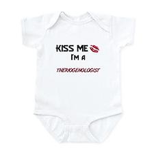 Kiss Me I'm a THERIOGENOLOGIST Infant Bodysuit