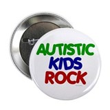 Autistic Kids Rock 1 (Primary) Button