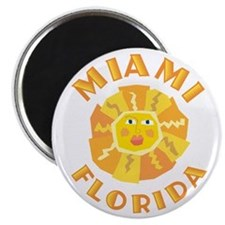 Miami Sun - Magnet