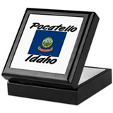 Pocatello Idaho Keepsake Box