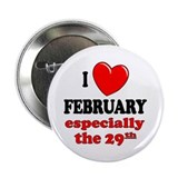 "February 29th 2.25"" Button (100 pack)"