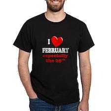 February 29th T-Shirt