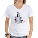 Wedding Cake Women's V-Neck T-Shirt