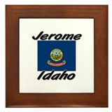 Jerome Idaho Framed Tile