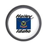 Hailey Idaho Wall Clock