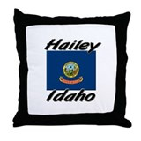 Hailey Idaho Throw Pillow