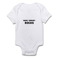 Music Therapy Rocks Onesie