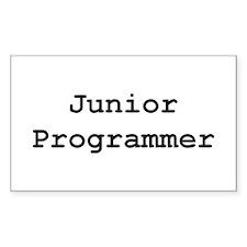 Junior Programmer Rectangle Decal