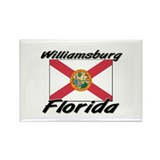 Williamsburg Florida Rectangle Magnet