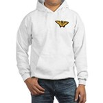 Butterfly Art Hooded Sweatshirt