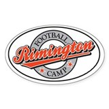 Rimington Football Camp Oval Decal