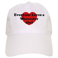 Worcester girl Baseball Cap