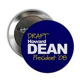 "DFAFT DEAN 2008 2.25"" Button (100 pack)"
