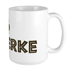 Shipperke (dog paw) Mug