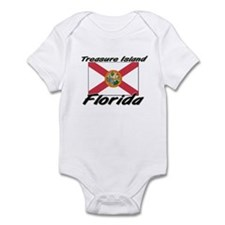 Treasure Island Florida Infant Bodysuit