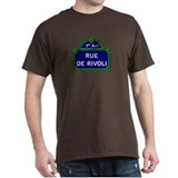 Rue de Rivoli, Paris - France  T-Shirt