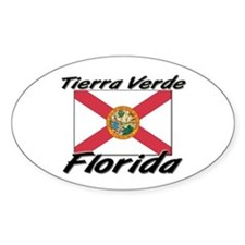 Tierra Verde Florida Oval Decal