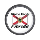 Tierra Verde Florida Wall Clock