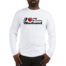 I love my Bermudan Husband Long Sleeve T-Shirt