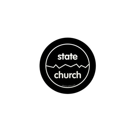 Separate Church and State Mini Button