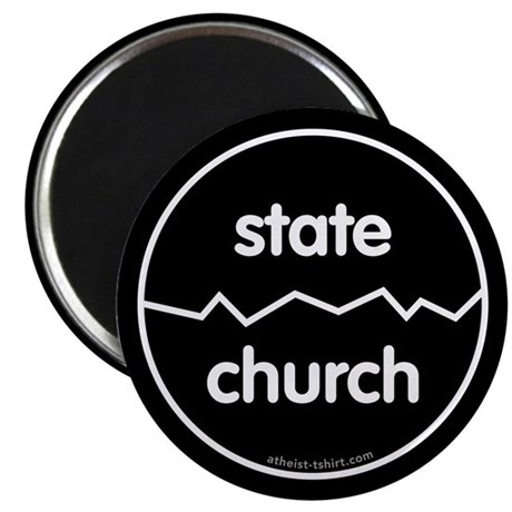 Separate Church and State 2.25&quot; Magnet (100 pack)