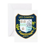 USS Camden (AOE 2) Greeting Card